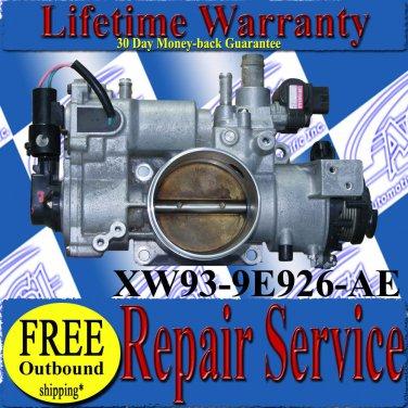 99 00 01 02 03 Jaguar XJ8 XK8 Throttle Body Complete Repair Service READ LISTING