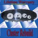 98 99 00 01 02 03 SEBRING SPEEDOMETER BACK LIGHT REPAIR SERVICE READ LISTING