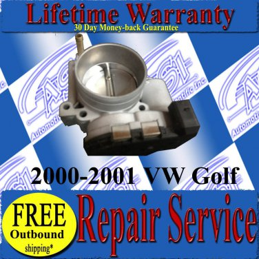 2000 00 01 2001 VW Golf 2.8L JETTA THROTTLE BODY REPAIR SERVICE READ LISTING