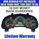 03 ASCENDER CLUSTER REPAIR SERVICE NEW STEPPERS BULBS READ LISTING