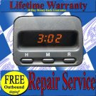 1997 1998 1999 2000 2001 HONDA CRV CR-V DIGITAL CLOCK REPAIR SERVICE YOUR UNIT