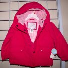 2T Toddler Winter Coat Jacket w/ Hood Pink Fuchsia  Wonder Kids New