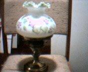 Fenton 1992 Boudoir Lamp 73137S Newinboxhandpt. violet