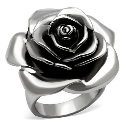 Rose Flower Statement Ring ~ Stainless Steel