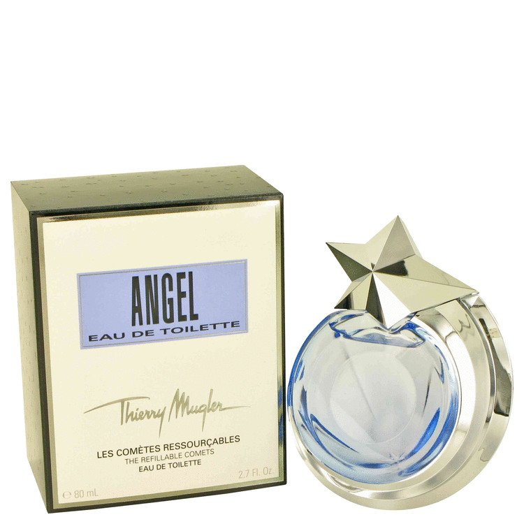 2.7 oz EDT Angel Perfume By Thierry Mugler for Women ~ Refillable