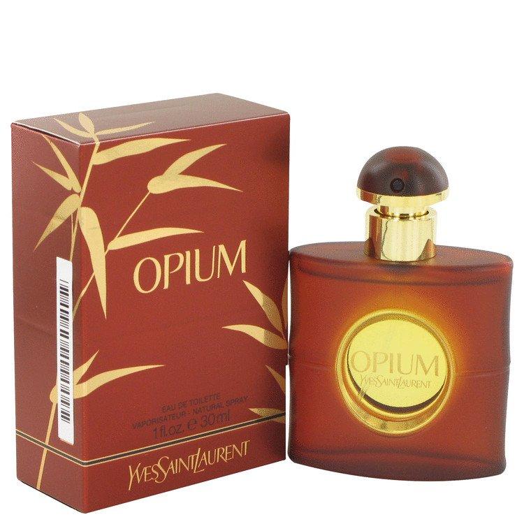 1 oz EDT Opium by Yves Saint Laurent Perfume for Women (New Packaging)