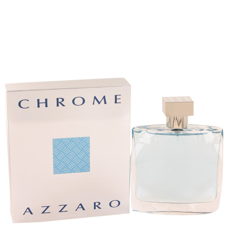 3.4 oz EDT Chrome Cologne By Loris Azzaro for Men