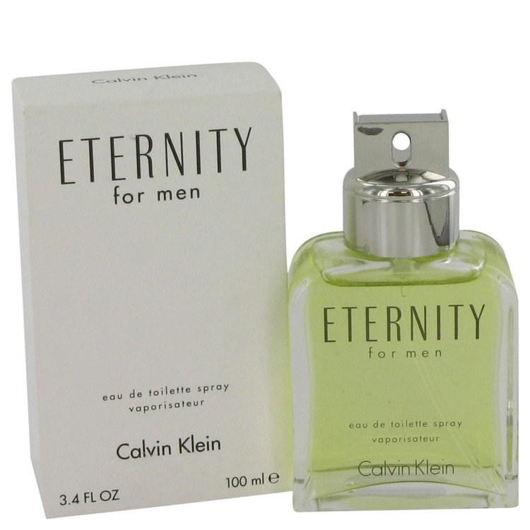 TESTER 3.4 oz EDT Eternity Cologne by Calvin Klein for Men
