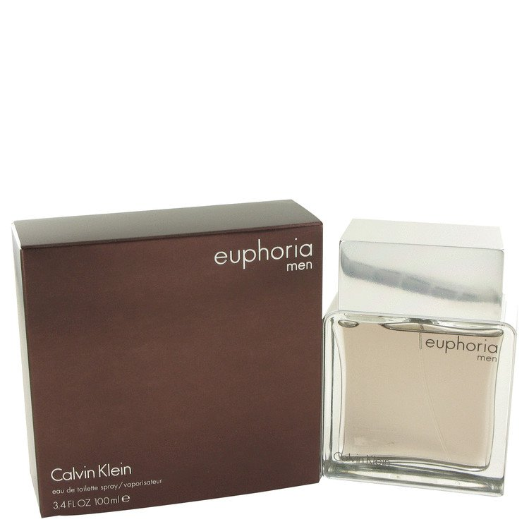 3.4 oz EDT Euphoria Cologne by Calvin Klein for Men