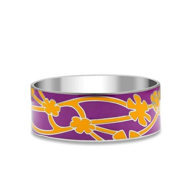 Fuchsia & Orange High Fashion Bracelet ~ Stainless Steel