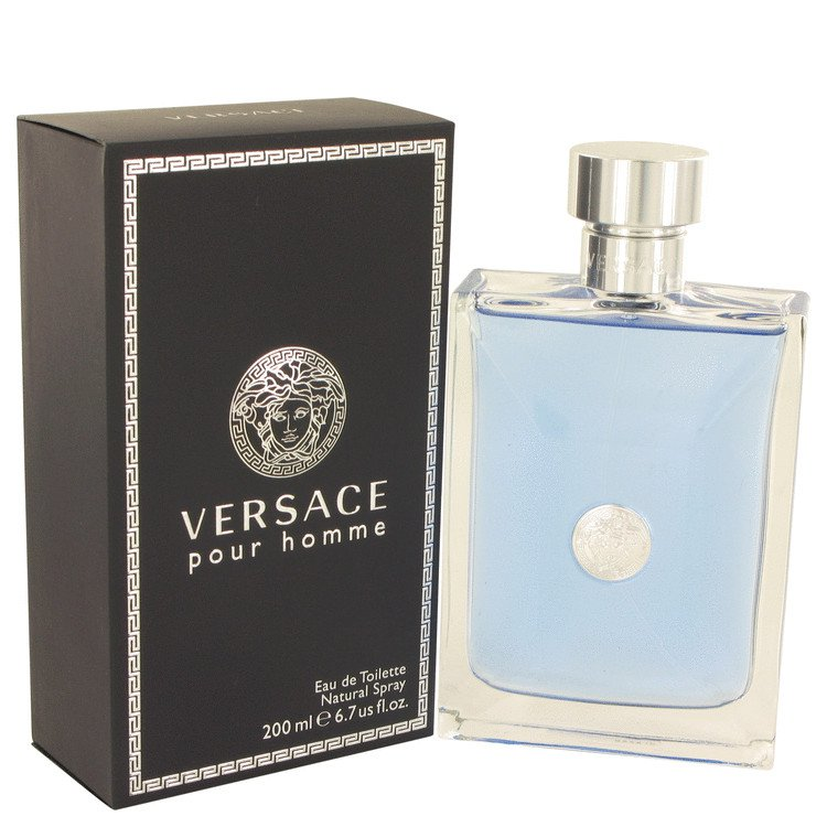 6.7 oz EDT Versace Pour Homme Cologne By Versace for Men