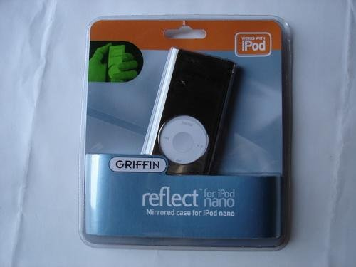 Mirrored Chrome-Finish Case for ipod nano