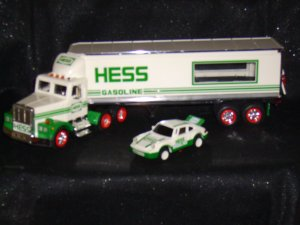 1992 Hess Tractor Trailer with Porche