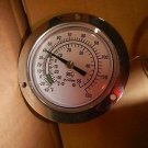 "Analog Panel Mount Thermometer,Vapor,-40 Degrees to 120 Degrees(F),2-1/2"" Dial"