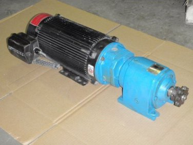 Powertec Brushless DC Servo Motor L14CLA1100100000 and a flender Reducer Z31Q