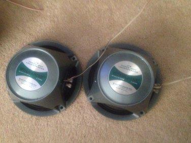 EV Wolverine 3-way Speakers LT8 / Bullet Tweeter / Whizzer cone Mids (pair)