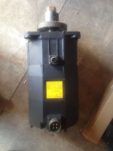 Fanuc AC Servo Motor A06B-0501-B571, Missing Transponder, Good Motor