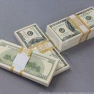 PROP MONEY Blank Filler Bundles $100s $50,000 for Movie, TV, Videos, Novelty