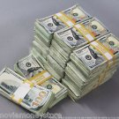 PROP MONEY USED LOOK NEWSTYLE $260,000 Blank Fillers for Movie, TV, Videos