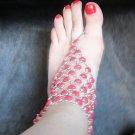 Red Onyx Foot Ankle Bracelet