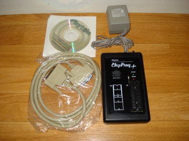 Phyton ChipProg+ Universal Programmer. LPT / parallel port interface. 40-Pin socket.