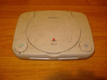 Modded Sony PlayStation PSone White PS1 (NTSC - SCPH-101). Mod Chip Installed for Backup Games.