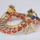 Heart Shape Roller-coaster Fabergé Style