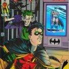 Robin II- #2C - Joker w/dagger cover; Batman Hologram NM