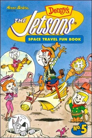 Jetsons Space Travel Fun Book #5 NM