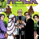 Incredible Hulk #319  (VF+ to NM-)