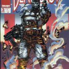 Deathblow #2 (VF+ to NM-)