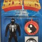 Secret Wars #1 Black Spiderman Costume Christopher Action Figure Variant NM