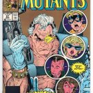 New Mutants #87  2nd print gold NM-/ NM (5 copies)