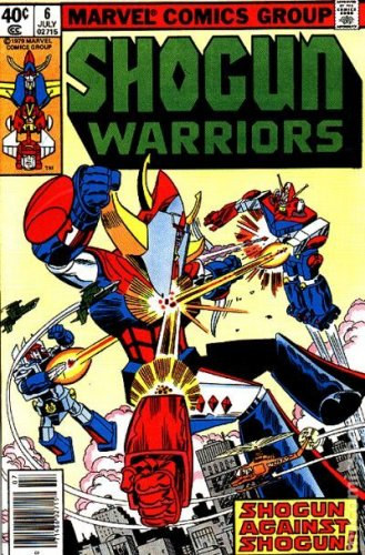 Shogun Warriors #6  (VF+)