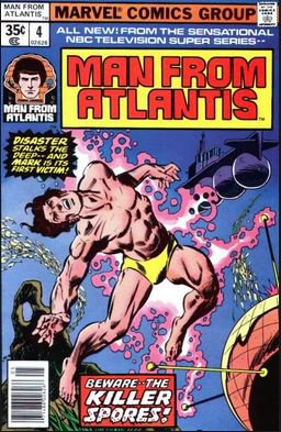 Man from Atlantis #4  (VF to VF+)