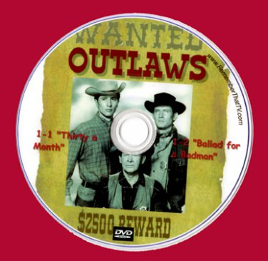 Outlaws Series- Complete & Uncut on 25 DVDS - 1st DVD with ART Don Collier -Region 0!