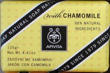 Apivita Soap with Chamomille for sensitive skin 125gr