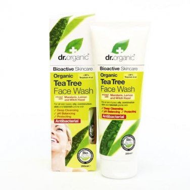 Dr.Organic Organic Tea Tree Face Wash 200ml