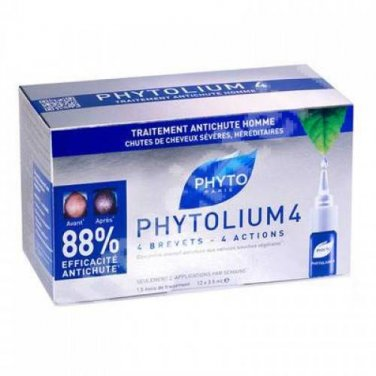 Phyto Phytolium 4 , 12 amp  x 3.5m l for Men hair loss