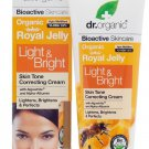 DR. ORGANIC ORGANIC ROYAL JELLY LIGHT & BRIGHT CREAM 125ML
