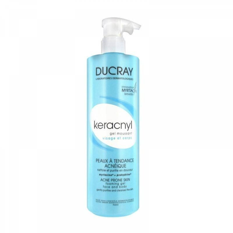 Ducray Keracnyl Foaming Gel 400ml