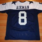 TROY AIKMAN DALLAS COWBOYS CUSTOM MADE UNSIGNED JERSEY - ADULT XL