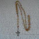 Dream Fire Dragon Vein Agate Rosary