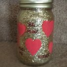 Valentine Mason Jar Candle