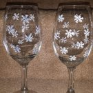 Snowflake Wine Goblet Set