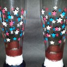 Patriotic Pilsner Glasses