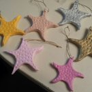 Summery Starfish Ornament Set