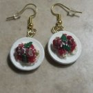 Delicious Spaghetti Plate Charm Earrings Food Clay Charms Meatball Charm Earring