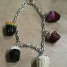 Cute Cupcake Charm Bracelet Food Clay Charms Bracelet Cupcakes Kids