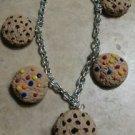 Cute Cookie Charm Bracelet Clay Charms Bracelet Kids Cookies Snack Silver
